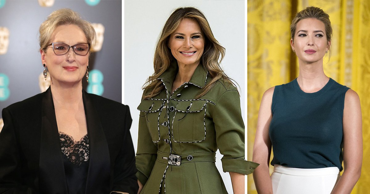 Meryl Streep deflects from Weinstein silence to accuse Melania and Ivanka of silence over Trump allegations