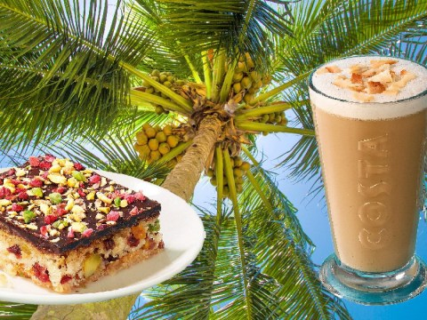 Costa Coffee introduces coconut milk as a dairy-free option
