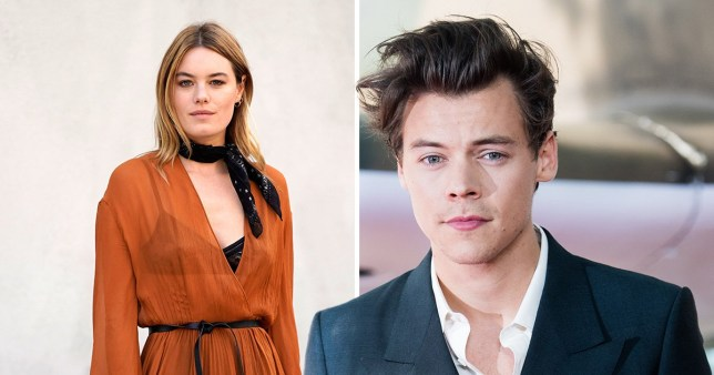 7eb2ba480e0 Harry Styles takes girlfriend Camille Rowe to meet family. Harry Styles is  taking his relationship with Victoria s Secret model ...