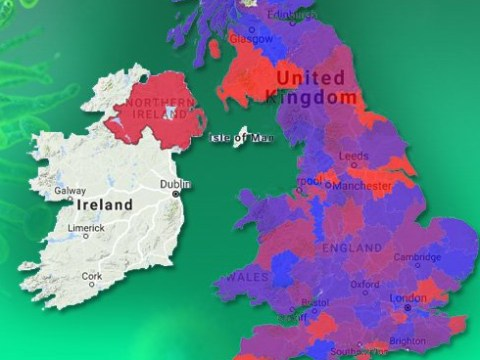 Flu map of Britain shows worst hit areas as Australian flu spreads