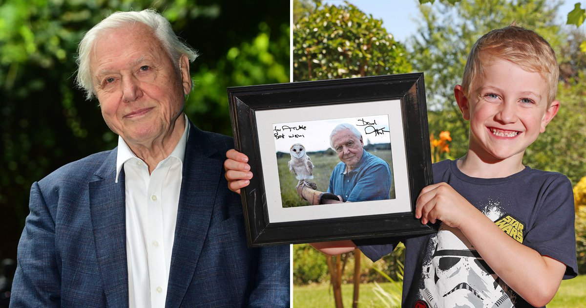 This picture of David Attenborough proves he's the absolute legend we think he is