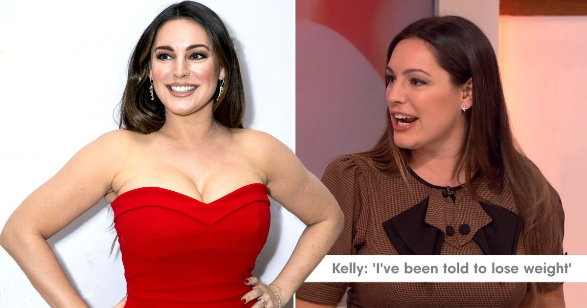 Kelly Brook was told to lose weight off her boobs by her doctors