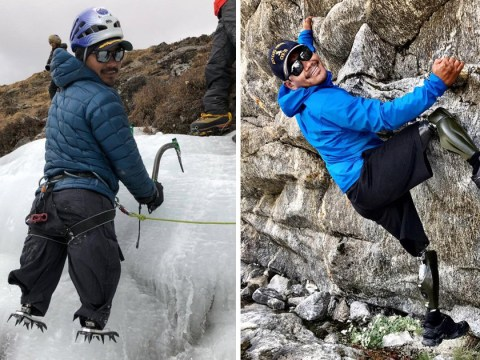 Gurkha who lost his legs in Afghanistan banned from climbing Mount Everest