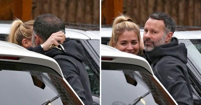 Gemma and Ryan share a kiss