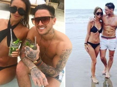 Stephen Bear cuddles lady friend just weeks after begging for Charlotte Crosby's forgiveness