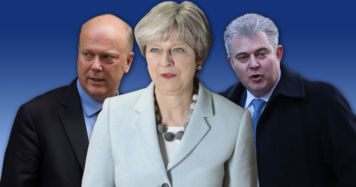 Chris Grayling announced as Tory party chairman – by accident