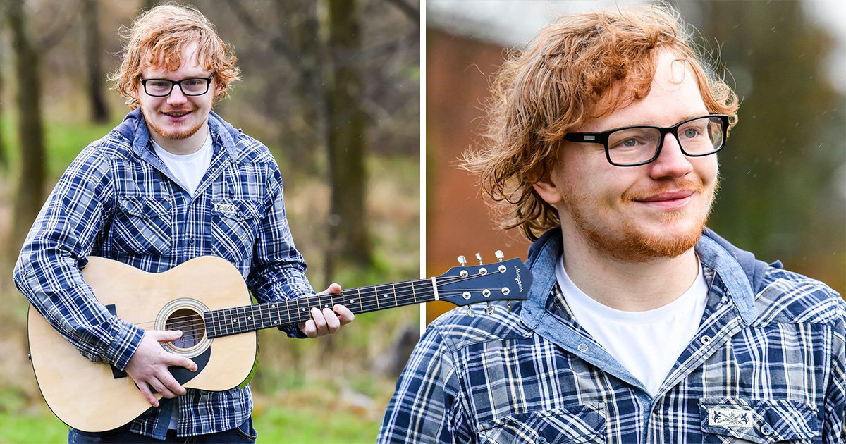 Separated at birth? This Ed Sheeran lookalike has got us all kinds of shook