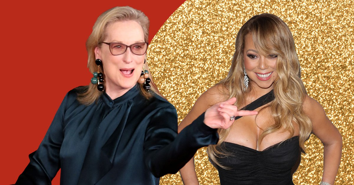 Meryl Streep reveals her real reaction after Mariah Carey stole her Golden Globes seat