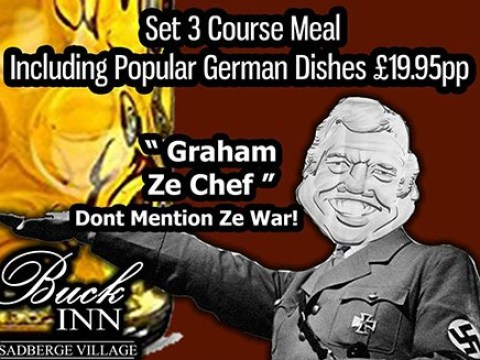 Pub landlord used Nazi images in ads and went to event dressed as Hitler