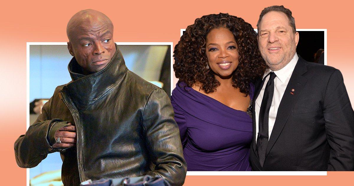Seal slams 'sanctimonious' Oprah Winfrey after Globes speech, claiming she 'ignored' Weinstein's abuse