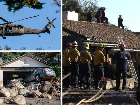 Number of missing people in California mudslide shrinks to five from nearly 50