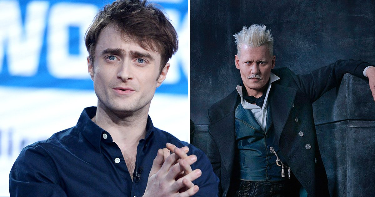 Daniel Radcliffe addresses controversy surrounding Johnny Depp's Fantastic Beasts casting