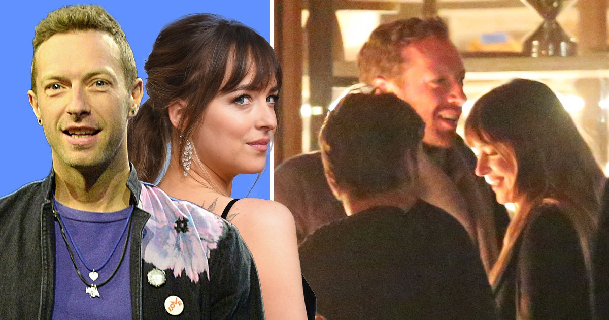 Dakota Johnson and Chris Martin pictured together for first time as they enjoy Malibu date night