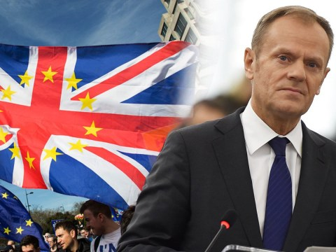 Brexit can still be stopped, Donald Tusk tells Britain