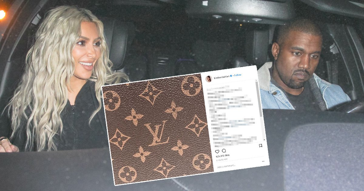 Kim Kardashian baby name speculation peaks as she hints it could be Louis or Vuitton