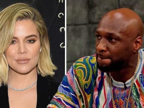Lamar Odom says he's 'happy' for pregnant ex-wife Khloe Kardashian