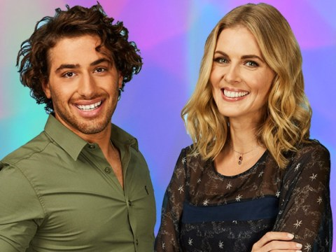 Kem Cetinay gets told off for flirting with Donna Air by Dancing On Ice bosses
