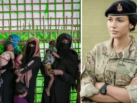 Michelle Keegan's Our Girl under fire as BBC accused of forcing refugees to relive horrific ordeals