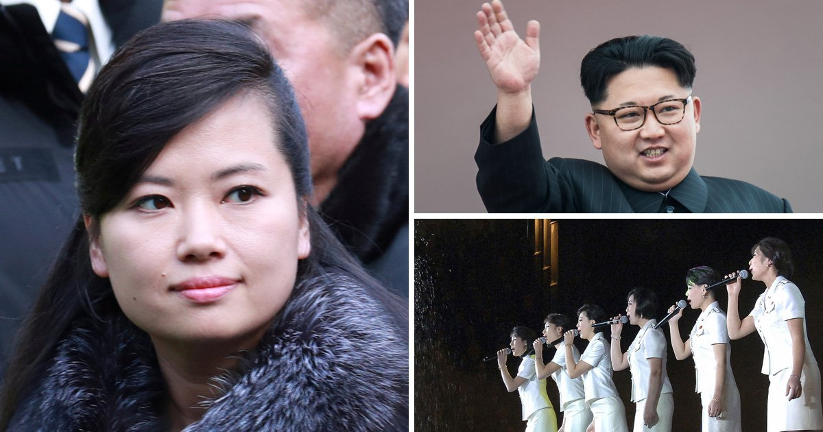 North Korean pop star visits South Korea before performing at the Olympics