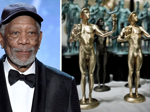 Morgan Freeman calls out 'gender specific' SAG statuette as he accepts Lifetime Achievement Award