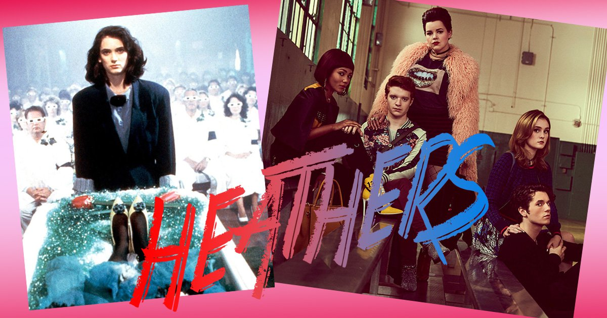 Making the Heathers outcasts in the TV remake totally defeats the purpose