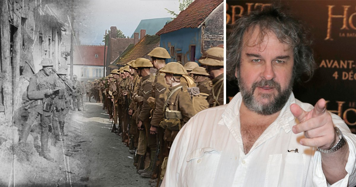 Sir Peter Jackson plans to bring WWI to the big screen