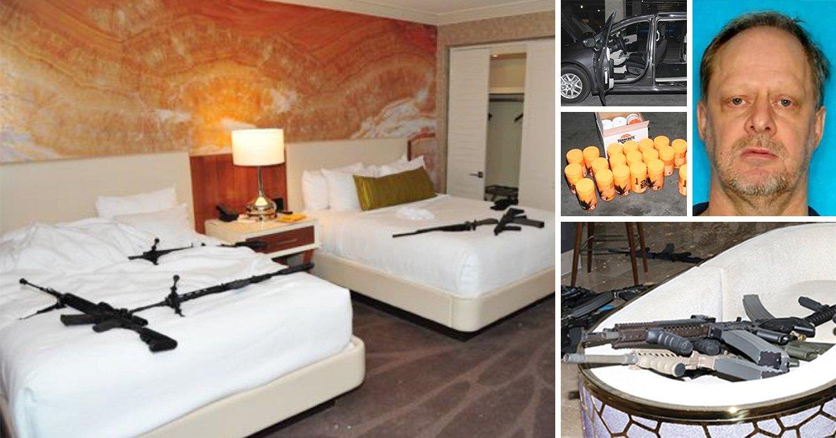 New photos inside Las Vegas hotel room where Stephen Paddock shot dead 58 people | Metro News