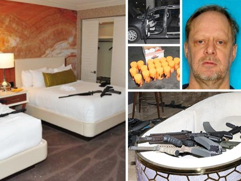 New photos inside Las Vegas hotel room where Stephen Paddock shot dead 58 people