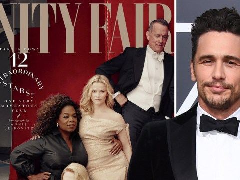 James Franco digitally removed from Vanity Fair Hollywood issue cover after sexual misconduct allegations