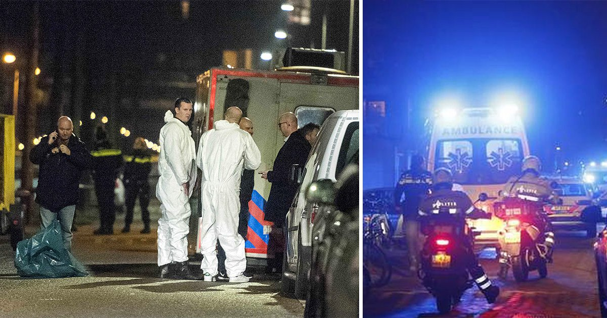 One dead, two injured in shooting in central Amsterdam