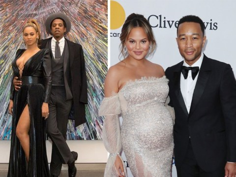 Jay-Z and Beyonce join Chrissy Teigen and John Legend for a seriously swish Grammys pre-party