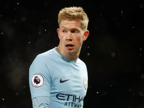 Pep Guardiola reveals Kevin De Bruyne is playing through pain against Watford