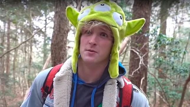 Logan Paul dead body forest video