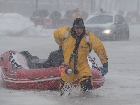 Weather in the US gets even worse as icy water floods Boston