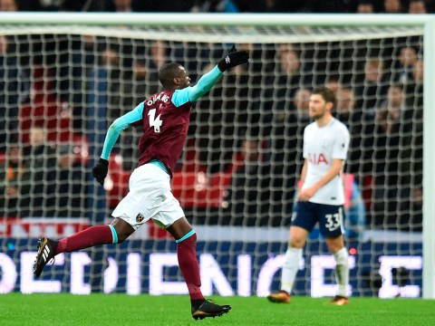 West Ham took the lead in 1-1 draw with their first shot – after Tottenham had wasted 20 attempts