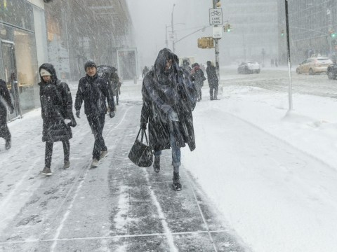 Winter Storm Inga batters the south with snow, ice and freezing rain