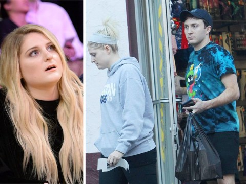 Meghan Trainor and Daryl Sabara celebrate their engagement with visit to a sex shop