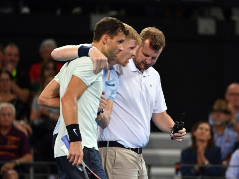 Grigor Dimitrov speaks out on his epic sportsmanship after Kyle Edmund injury