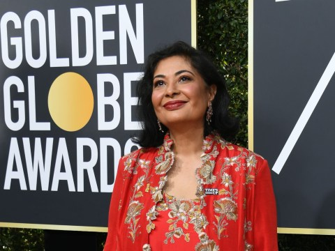 This is why HFPA president Meher Tatna didn't wear black for the Golden Globes