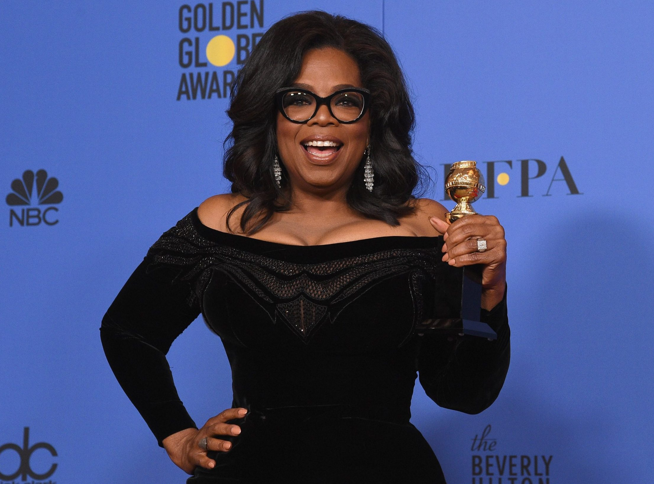 Oprah Winfrey proved Black Girl Magic was out in full force at the Golden Globes