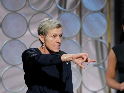 NBC slammed by Golden Globes viewers for unnecessary censorship of Frances McDormand's speech