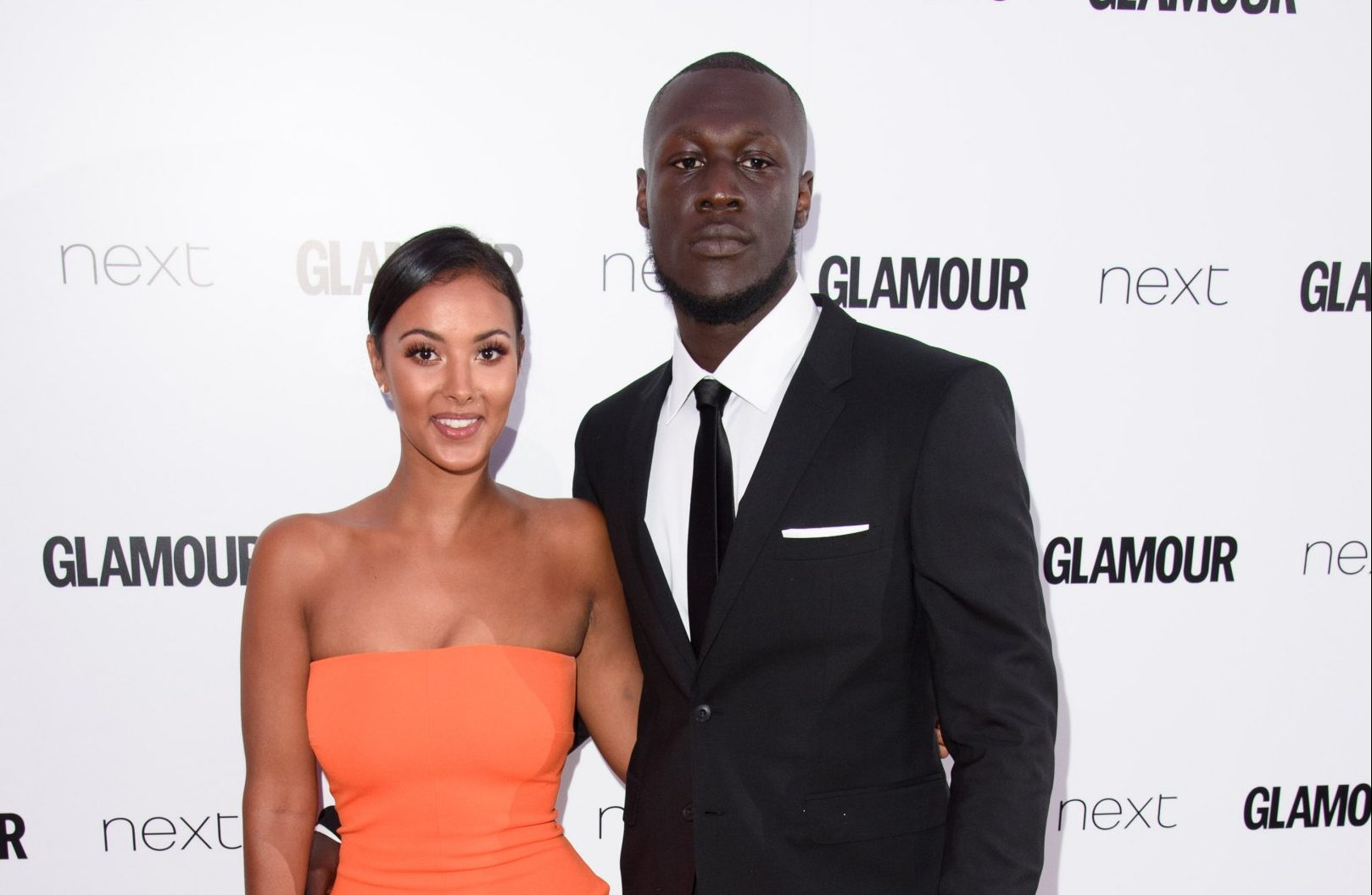 Maya Jama is the ultimate fan girl as she watches boyfriend Stormzy perform at Wireless