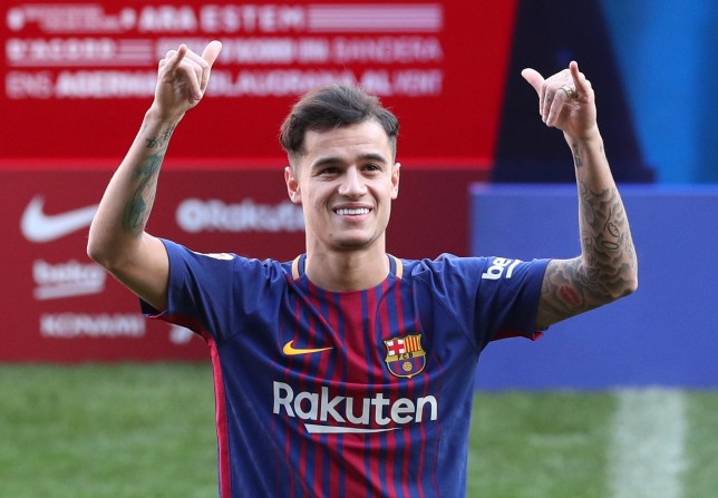4c27291a1 Liverpool news: Barcelona confirm Philippe Coutinho's shirt number ...