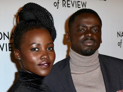 Black Panther's Daniel Kaluuya and Lupita Nyong'o reunite and swap Wakanda for red carpet
