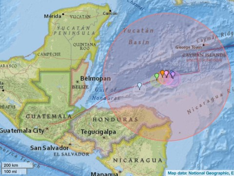 Tsunami fears after 7.6 magnitude earthquake shakes Caribbean