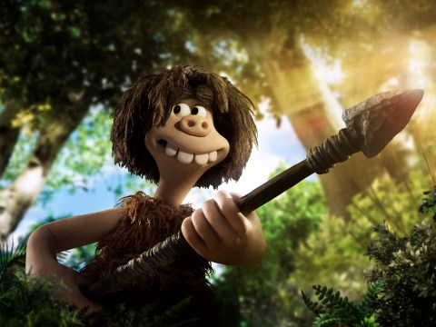 Eddie Redmayne's tribe prove useless at catching rabbits in new clip for Aardman's Early Man
