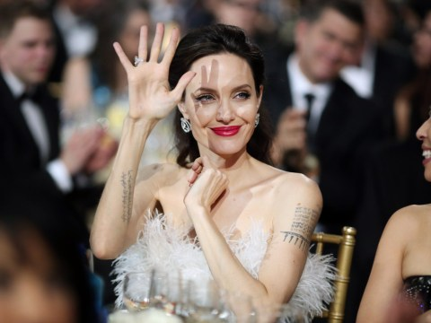 Angelina Jolie goes all white at Critics' Choice Awards as shes linked to Cambodian filmmaker PraCh Ly