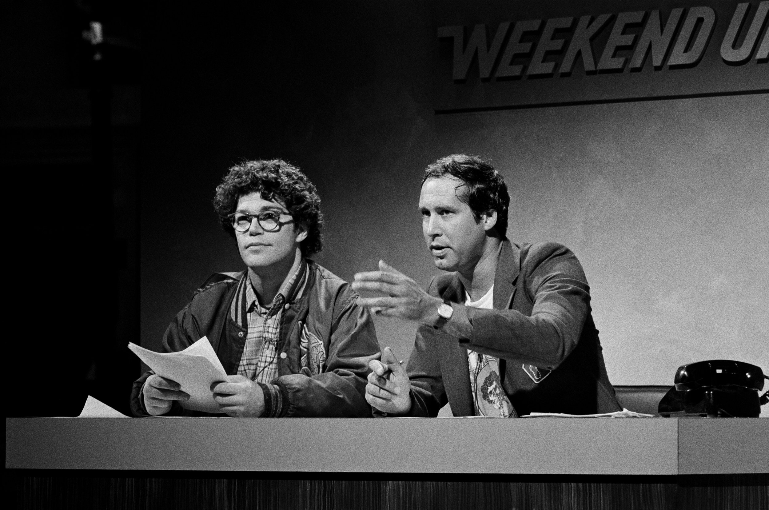 chevy chase says al franken wasn't as bad as Harvey Weinstein