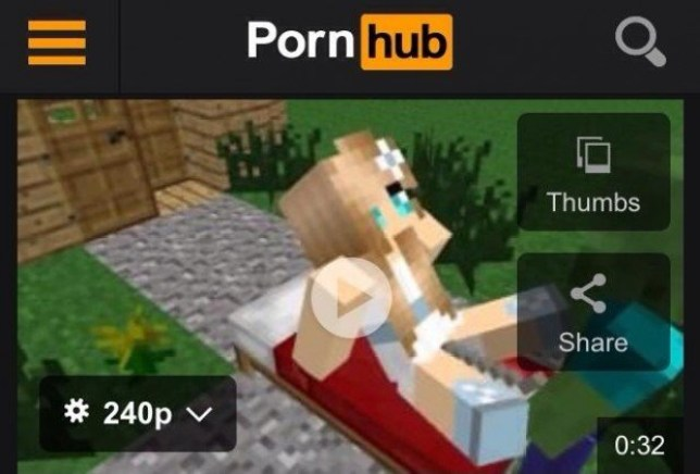 Minecraft is just one popular video game that's gaining a whole new audience on porn channels