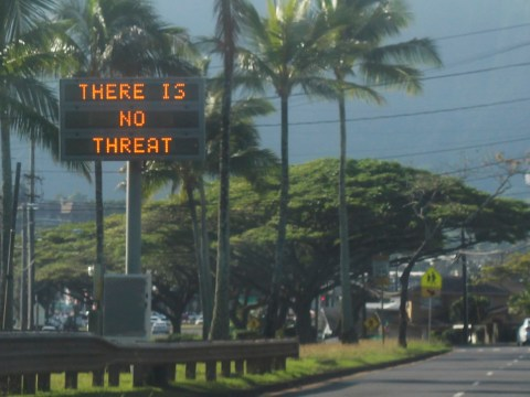 Donald Trump 'loves' that Hawaii owned up to missile alert mistake